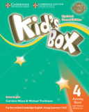 Kid's Box. Level 4. Activity Book with Online Resources British English
