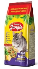 "Корм для шиншилл ""Happy Jungle"", 900 г"