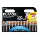 "Батарейки ""Duracell Ultra Power"", AA LR6, Alkaline, 12 штук, 1,5 В"