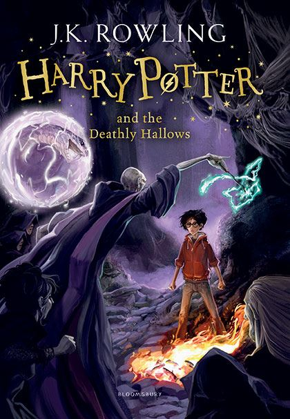 Книга Harry Potter and the Deathly Hallows. Rowling J.K.