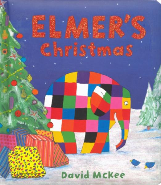 It's two days before Christmas Eve, the night Papa Red visits, and the young elephants are very excited. They choose a tree to decorate and prepare the presents for Papa Red to collect during the night to take to those who need them. But this year Elmer has a special treat in store for the young elephants, if they can keep quiet and out of sight.