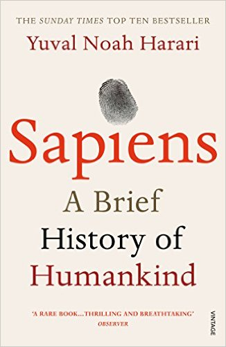 "From a renowned historian comes a groundbreaking narrative of humanity's creation and evolution—a #1 international bestseller—that explores the ways in which biology and history have defined us and enhanced our understanding of what it means to be ""human."" One hundred thousand years ago, at least six different species of humans inhabited Earth. Yet today there is only one—homo sapiens. What happened to the others? And what may happen to us? Most books about the history of humanity pursue either a historical or a biological approach, but Dr. Yuval Noah Harari breaks the mold with this highly original book that begins about 70,000 years ago with the appearance of modern cognition. From examining the role evolving humans have played in the global ecosystem to charting the rise of empires, Sapiens integrates history and science to reconsider accepted narratives, connect past developments with contemporary concerns, and examine specific events within the context of larger ideas. Dr. Harari also compels us to look ahead, because over the last few decades humans have begun to bend laws of natural selection that have governed life for the past four billion years. We are acquiring the ability to design not only the world around us, but also ourselves. Where is this leading us, and what do we want to become? Featuring 27 photographs, 6 maps, and 25 illustrations/diagrams, this prvocative and insightful work is sure to spark debate and is essential reading for aficionados of Jared Diamond, James Gleick, Matt Ridley, Robert Wright, and Sharon Moalem."