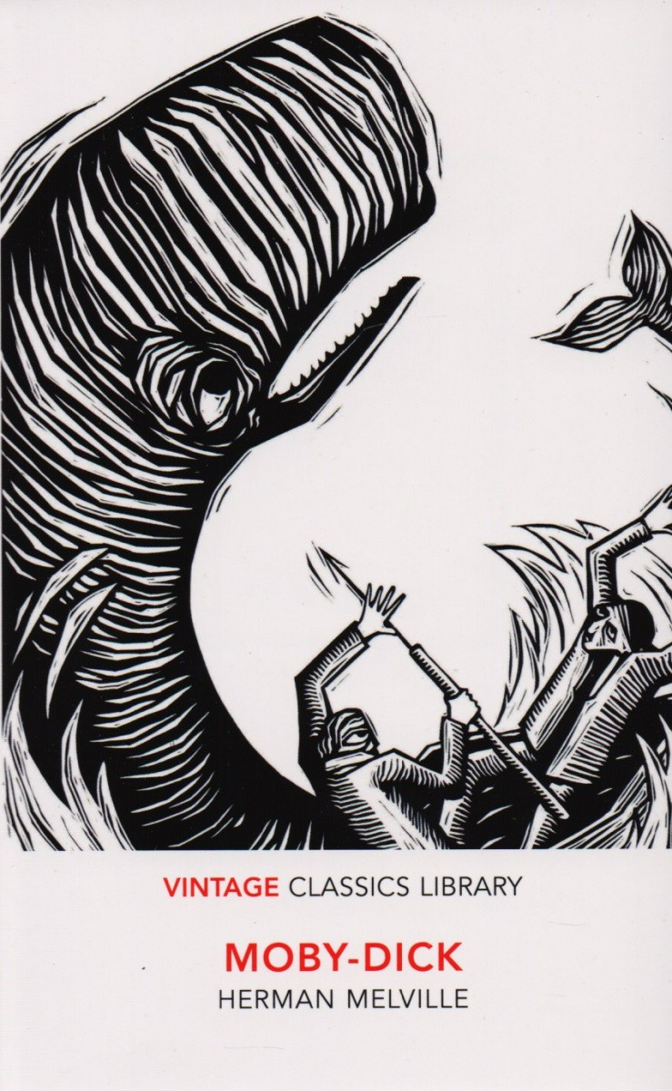 """Acclaimed by D. H. Lawrence as """"the greatest book of the sea ever written,"""" Moby Dick looms large in America's literary consciousness — and the style and philosophical content of Melville's 1851 epic was generations ahead of its time. Today the chronicle of a vengeful captain's obsessive, self-destructive search for a white whale ranks among the great American novels, and this volume does full justice to its preeminence. Twenty-five glorious woodcut illustrations from the 1930 Albert and Charles Boni version complement the newly reset edition, which also features an abundance of decorative elements..Much of Moby Dick was inspired by the 1821 work Narratives of the Wreck of the Whale-Ship Essex, which in turn inspired the 2015 movie In the Heart of the Sea, directed by Ron Howard and starring Chris Hemsworth."""