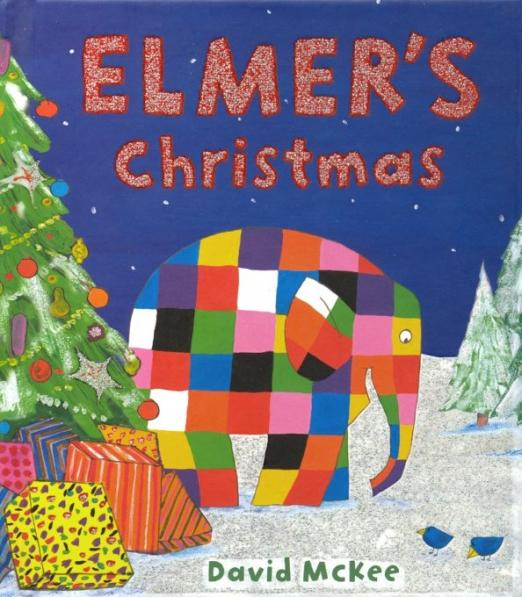 It's two days before Christmas Eve, the night Papa Red visits, and the young elephants are very excited. They choose a tree to decorate and prepare the presents for Papa Red to collect during the night to take to those who need them. But this year Elmer has a special treat in store for the young elephants, if they can keep quiet and out of sight...