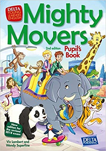 Mighty Movers is an ideal preparation course for the Cambridge English: Young Learners Movers test. This has been extensively revised and updated for the 2018 syllabus with sparkling new artwork and additional teacher resources, including material for the Interactive Whiteboard.