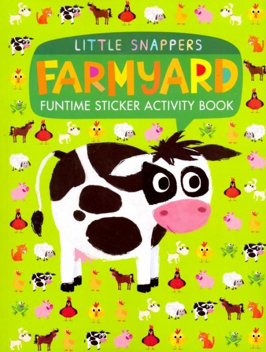 Farmyard: Funtime Sticker Activity Book