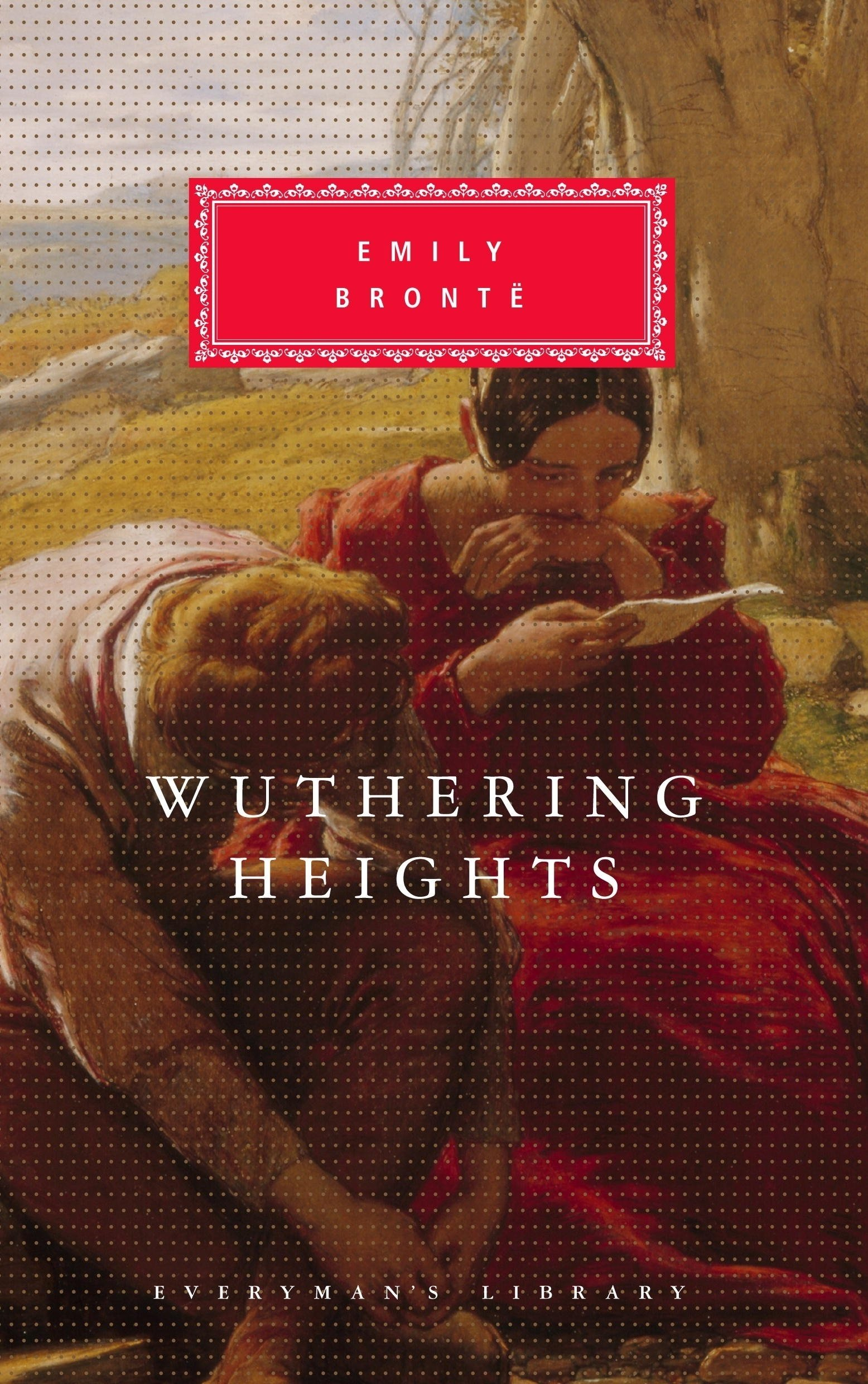 The title of the novel comes from the Yorkshire manor on the moors of the story. The narrative centres on the all-encompassing, passionate, but ultimately doomed love between Catherine Earnshaw and Heathcliff, and how this unresolved passion eventually destroys them and the people around them.