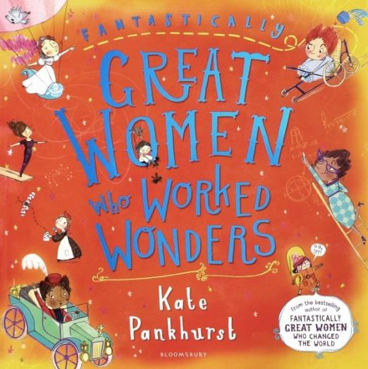 Kate Pankhurst, descendent of Emmeline Pankhurst, is back with a brand new wildly brilliant and accessible book about incredible women in the world of work.  What do you want to be when you grow up? It