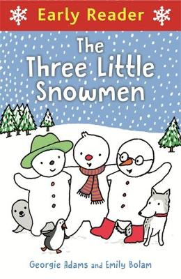 Three little snowmen, Frosty, Freezy and Boots, are on a quest to find Father Christmas! Along with their pets, Poppet the Penguin, Henry the Husky and Samba the Seal, the intrepid friends go on a journey to the North Pole. But before long they get lost in a blizzard! Can the friends get to the North Pole in time to see Father Christmas?  Early Readers are stepping stones from picture books to reading books. A blue Early Reader is perfect for sharing and reading together. A red Early Reader is the next step on your reading journey.