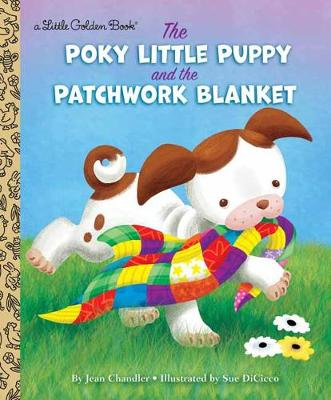 "The adorable story about the Poky Little Puppy and his beloved blankie is now back in print for a new generation! The Poky Little Puppy loves his blanket so much that he takes it outside, even though he's not supposed to. But too much ""roly-poly, pell-mell, tumble-bumble"" under fences and through bushes soon reduces his bright red blanket to shreds. Poor Poky! Luckily, his four brothers and sisters each give up parts of their own blankets for Poky's mother to sew into a beautiful patchwork blanket that will warm Poky inside and out! This book features all the charm of the original Poky, star of the bestselling picture book of all time, The Poky Little Puppy."