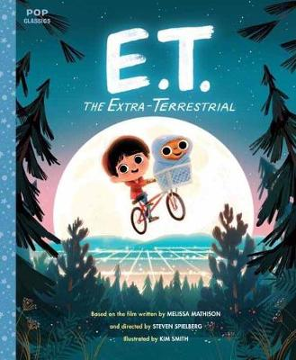 When the movie E.T. the Extra-Terrestrial was released in 1982, it enchanted millions of kids and surpassed Star Wars to become the highest-grossing film of all time. Now he s back and rendered in the fun, colourful, retro illustration styles of illustrator Kim Smith. This storybook follows all the basic beats of the film: After E.T. is stranded on Earth, he takes refuge with Elliott, a lonely young boy in need of a friend. As Elliott and his siblings help E.T. phone home and make it back to his...