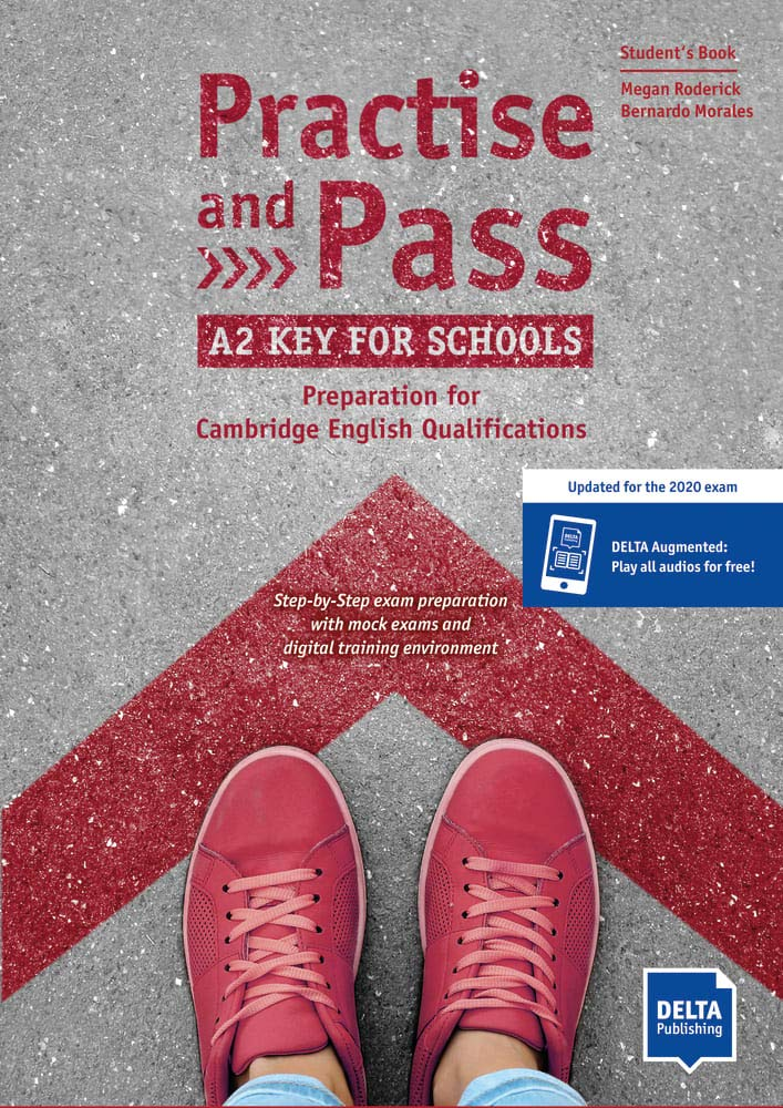 Preparing you to pass! Practise and Pass: A2 Key for Schools offers step-by-step preparation for all school-age students wanting to focus on passing the Cambridge A2 Key for Schools exam. This course provides a mininum of 40 hours of preparation and practise so that you know exactly what to expect on the day. 3 steps to success: Prepare, Practise and Pass = Perfect!