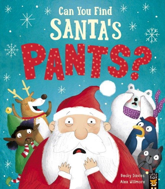 Can You Find Santa\'s Pants?