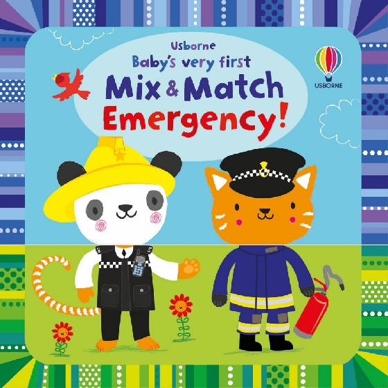 Each page is split into two parts - a head and a body - with animals dressed for different jobs in the emergency services. Children can mix and match the pages to create their own funny combinations. With over 150 job and animal combinations to entertain young children over and over again.