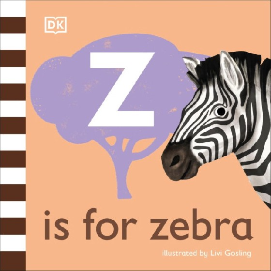 The latest title in DKs charming new alphabet series looks at the fabulous zebra, other zebra-striped animals, and some related words that begin with z. Take a first look at the super-cool zebra in this beautifully illustrated nonfiction picture book for babies and toddlers. Part of DKs illustrated animal alphabet series that makes a wonderful first gift, Z is for Zebra is quirky and fun, and perfect for holding the attention of little ones. It has friendly, read-aloud text and delightful illustrations by Livi Gosling. Young animal lovers will be smiling in no time as they point to the exciting zebra pictures, discover amazing things about these intriguing creatures, meet some other zebra-striped animals, and learn interesting words that begin with or contain the letter z. Learn that zebra-print stripes help to hide zebras, cool them, and keep flies off them; that a group of zebras is called a zeal; that a zebroid is the offspring of a zebra and a horse; and meet other animals in a zebra-striped zoo, including the zebrafish, the zebra finch, and the zebra caterpillar Filled with simple, playful facts, Z is for Zebra provides lots to talk about and lots to look at for curious, animal-loving babies and toddlers everywhere.