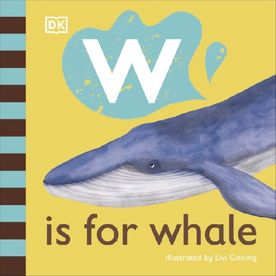 The latest title in DKs new alphabet series, W is for Whale looks at whale-related words that begin with the letter w. Take a first look at the wonderful world of whales in this beautifully illustrated board book for babies and toddlers. Part of DKs illustrated animal alphabet series, W is for Whale is the 23rd picture book installment, a perfect first nonfiction book for young children. The friendly, read-aloud text and delightful illustrations will have young animal-lovers smiling in no time as they learn new words about whales that all begin with the letter w. Have fun with your little one by pointing to the colorful illustrations that tell the story of these amazing animals. Learn where whales live, how big they are, and which wonderful member of the whale family has a unicorn-like white horn. Filled with simple, playful facts, W is for Whale provides lots to talk about and lots to look at for curious, animal-loving babies and toddlers everywhere.