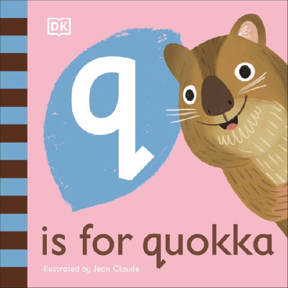 The latest title in DKs new alphabet series, Q is for Quokka features quokka-related words that begin with the letter q. Take a first look at the fascinating world of quokkas in this beautifully illustrated nonfiction picture book for babies and toddlers. Part of DKs illustrated animal alphabet series, Q is for Quokka is the seventeenth picture book installment, a perfect first gift for babies and toddlers. The friendly, read-aloud text and delightful illustrations will have young animal-lovers smiling in no time as they learn fun words about quokkas that all begin with the letter q. Have fun with your little one by pointing to the colorful illustrations that tell the story of these cute creatures. Learn how quizzical quokkas find their next meal, discover how baby quokkas get around, and see what these super-smiley creatures are up to when the rest of the world is asleep. Filled with simple, playful facts, Q is for Quokka provides lots to talk about and lots to look at for curious, animal-loving babies and toddlers everywhere.