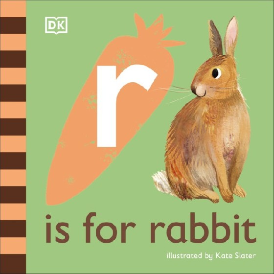 The latest title in DKs charming alphabet series looks at rabbit-related words that begin with the letter r. Take a first look at the remarkable world of rabbits in this beautifully illustrated nonfiction picture book for babies and toddlers. Part of DKs illustrated animal alphabet series, R is for Rabbit is the 18th entertaining picture book installment, a perfect first gift for babies and toddlers. The friendly, read-aloud text and lively illustrations will have young animal-lovers smiling in no time as they learn fun words about rabbits that all begin with the letter r. Have fun with your little one by pointing to the colorful illustrations that tell the story of these lovable creatures. Learn about rabbits big ears and feet, see where they live, and discover their enormous families Filled with simple, playful facts, R is for Rabbit provides lots to talk about and lots to look at for curious, animal-loving babies and toddlers everywhere.