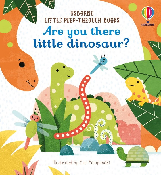 Little dinosaur is hiding! Little children will love peeping through the holes in the pages of this beautifully illustrated book to try and find the elusive dinosaur. There are finger-trails to touch and lots of details to spot and talk about together.