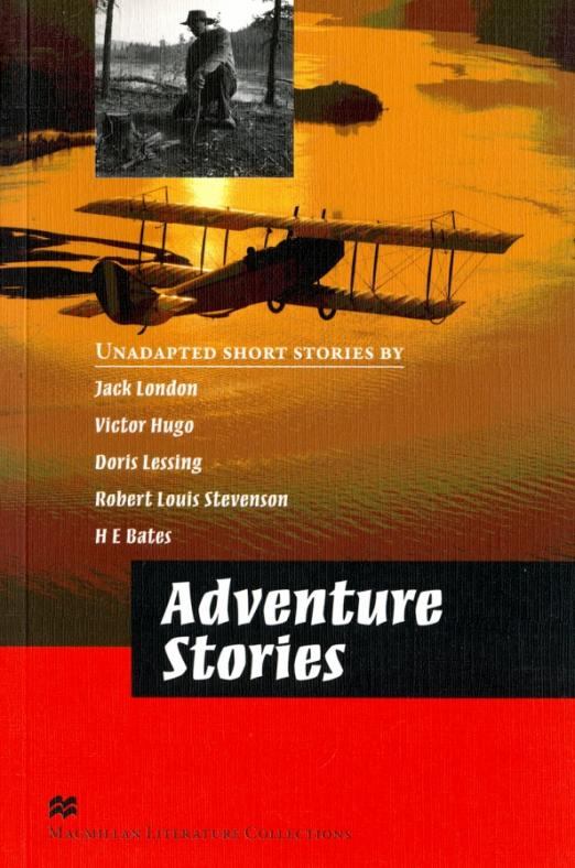 Adventure Stories Advanced Level, размер 130x196 мм. London Jack. ISBN: 978-0-230-40854-8